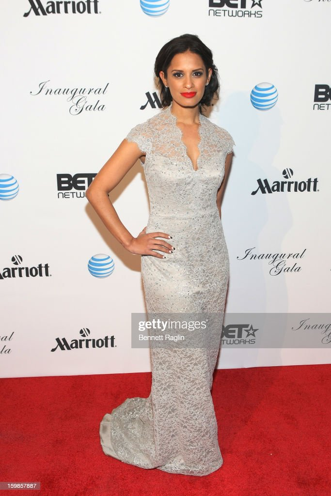 TV personality Rocsi Diaz attends the Inaugural Ball hosted by BET Networks at Smithsonian American Art Museum & National Portrait Gallery on January 21, 2013 in Washington, DC.