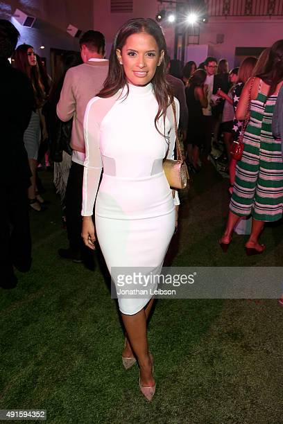 TV personality Rocsi Diaz attends the Latina 'Hot List' Party hosted by Latina Media Ventures at The London West Hollywood on October 6 2015 in West...