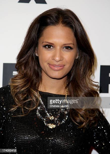 TV personality Rocsi Diaz attends the Maxim FX and Home Entertainment ComicCon Party on July 19 2013 in San Diego California