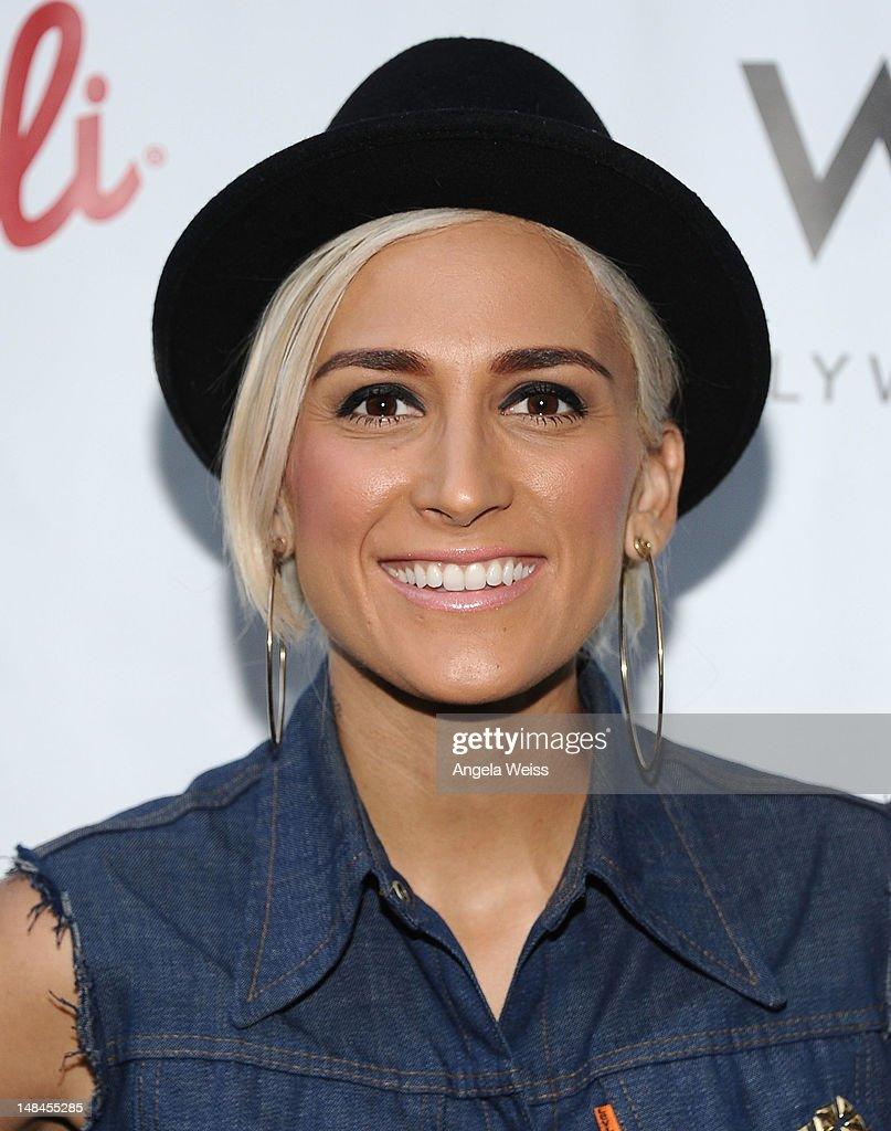 TV personality Romi Klinger attends Logo's AfterEllen & AfterElton Inaugural 'Hot 100 Party' at Station Hollywood at W Hollywood Hotel on July 16, 2012 in Hollywood, California.