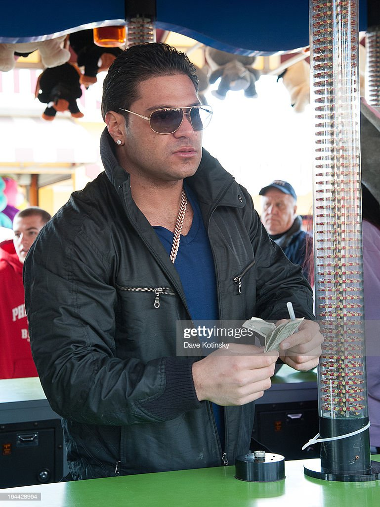 TV personality Ronnie Magro attends the MTV's 'Spring Fix' Benefit Concert at Six Flags Great Adventure on March 23, 2013 in Jackson, New Jersey.
