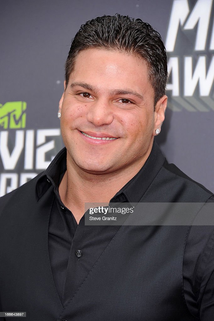 TV personality Ronnie Ortiz-Magro arrives at the 2013 MTV Movie Awards at Sony Pictures Studios on April 14, 2013 in Culver City, California.