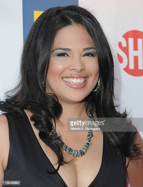 TV personality Rose Garcia arrives to the premiere of Showtime's 'The Real L Word' on June 1 2011 in West Hollywood California
