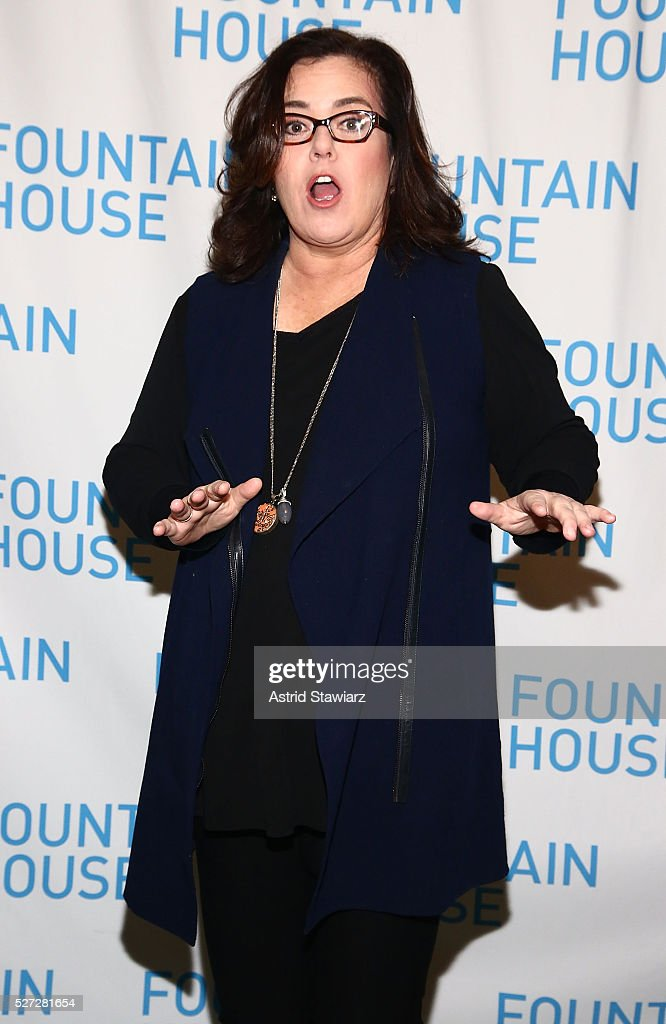 TV personality <a gi-track='captionPersonalityLinkClicked' href=/galleries/search?phrase=Rosie+O%27Donnell&family=editorial&specificpeople=201730 ng-click='$event.stopPropagation()'>Rosie O'Donnell</a> attends Fountain House Symposium And Luncheon at The Pierre Hotel on May 2, 2016 in New York City.