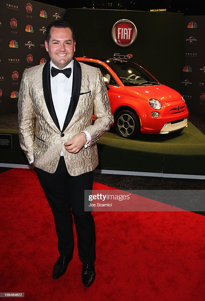 TV personality Ross Mathews attends Fiat's Into The Green at the 70th Annual Golden Globe Awards held at The Beverly Hilton Hotel on January 13, 2013 in Beverly Hills, California.