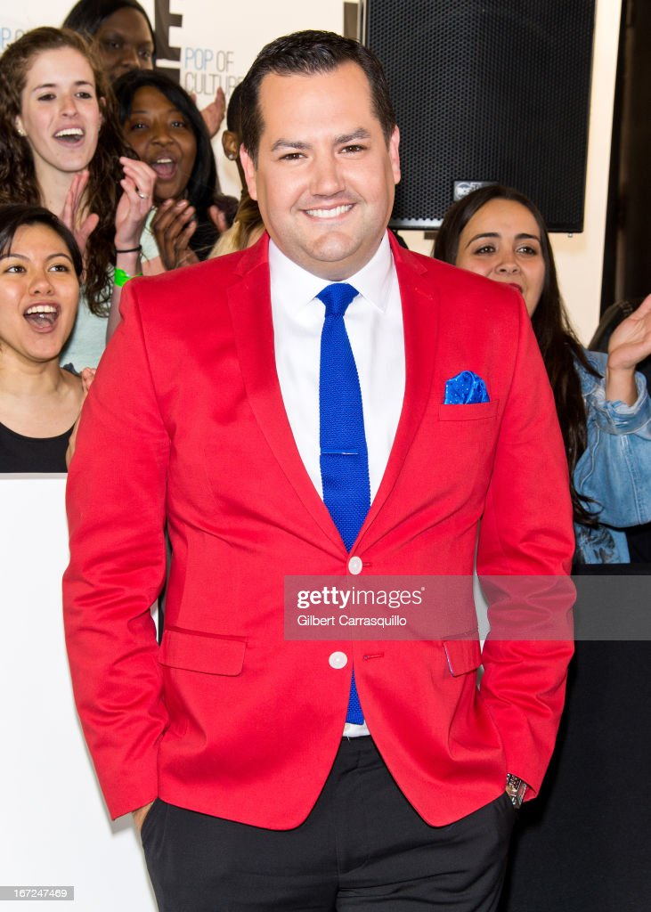 TV personality Ross Mathews attends the E! 2013 Upfront at The Grand Ballroom at Manhattan Center on April 22, 2013 in New York City.