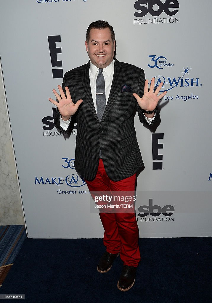 TV Personality <a gi-track='captionPersonalityLinkClicked' href=/galleries/search?phrase=Ross+Mathews&family=editorial&specificpeople=2993770 ng-click='$event.stopPropagation()'>Ross Mathews</a> attends the Make-A-Wish Greater Los Angeles 30th Anniversary Gala on December 4, 2013 in Los Angeles, California.