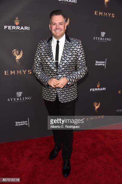 TV personality Ross Matthews attends the Television Academy's Performers Peer Group Celebration at The Montage Beverly Hills on August 21 2017 in...
