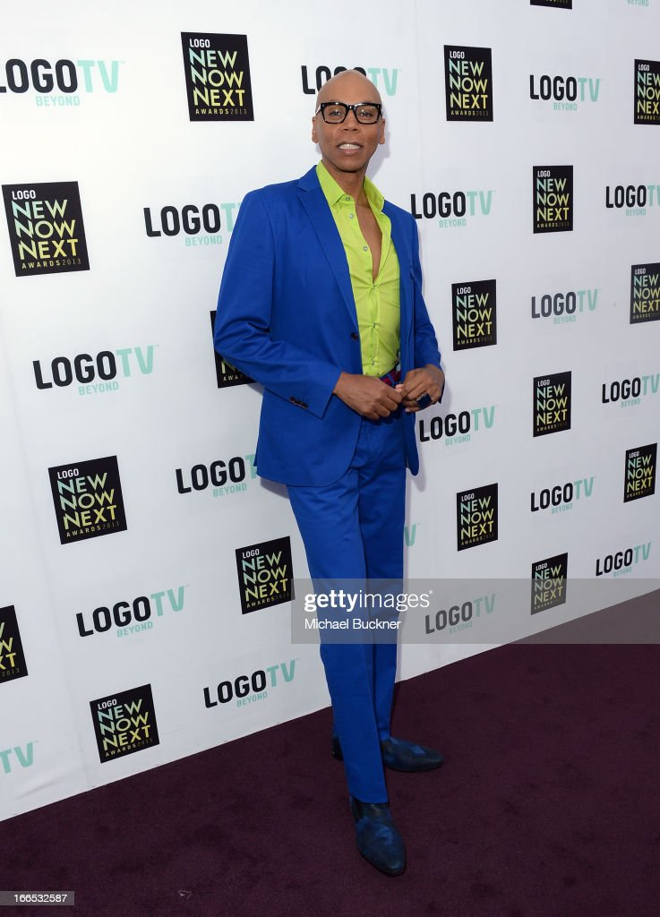 TV personality RuPaul attends the 2013 NewNowNext Awards at The Fonda Theatre on April 13, 2013 in Los Angeles, California.