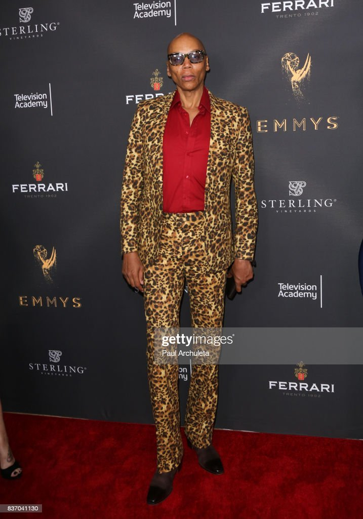 TV Personality RuPaul attends the Television Academy's Performers Peer Group Celebration at The Montage Beverly Hills on August 21, 2017 in Beverly Hills, California.