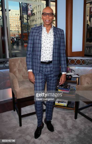 TV personality RuPaul visits Hollywood Today Live at W Hollywood on March 15 2017 in Hollywood California