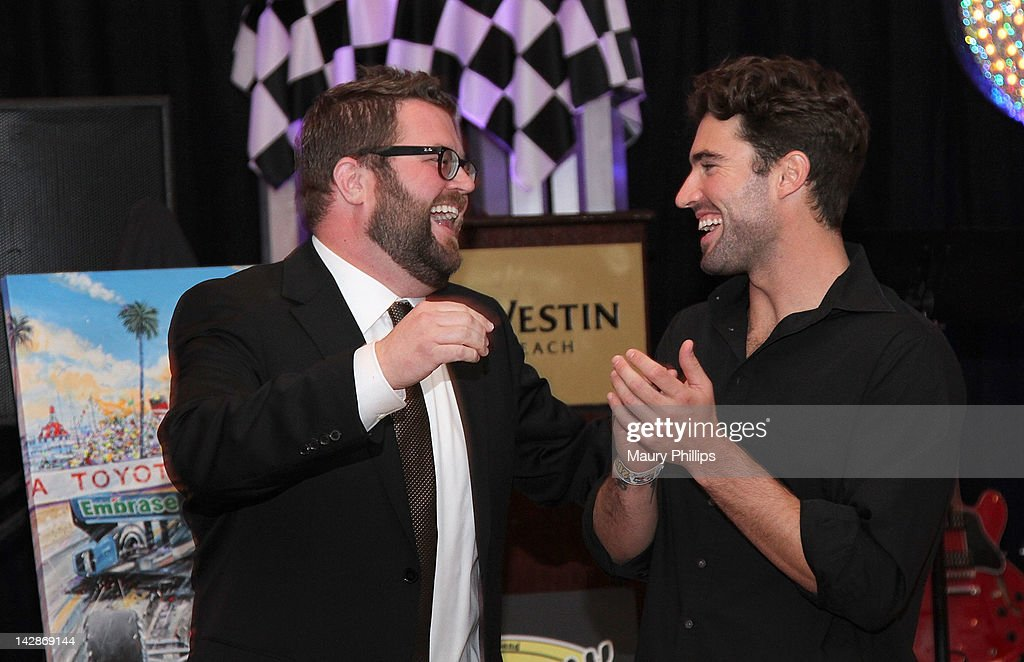 TV personality Rutledge Wood and Brody Jenner attend the Toyota Charity Ball on April 13, 2012 in Long Beach, California.
