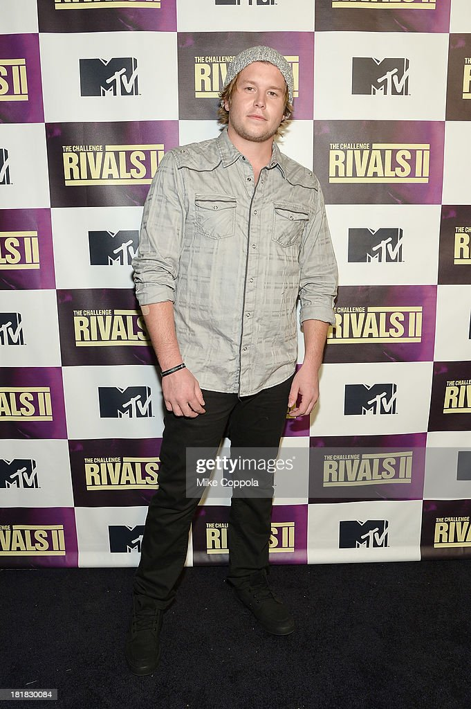 TV personality Ryan Knight attends MTV's 'The Challenge Rivals II' final episode and reunion party at Chelsea Studio on September 25 2013 in New York...