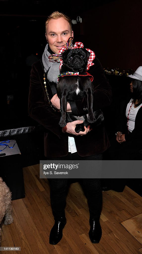 TV personality Ryan Nickulas attends Celebrity Catwalk: Mardi Paws Back In Black at Shadow on March 10, 2012 in New York City.
