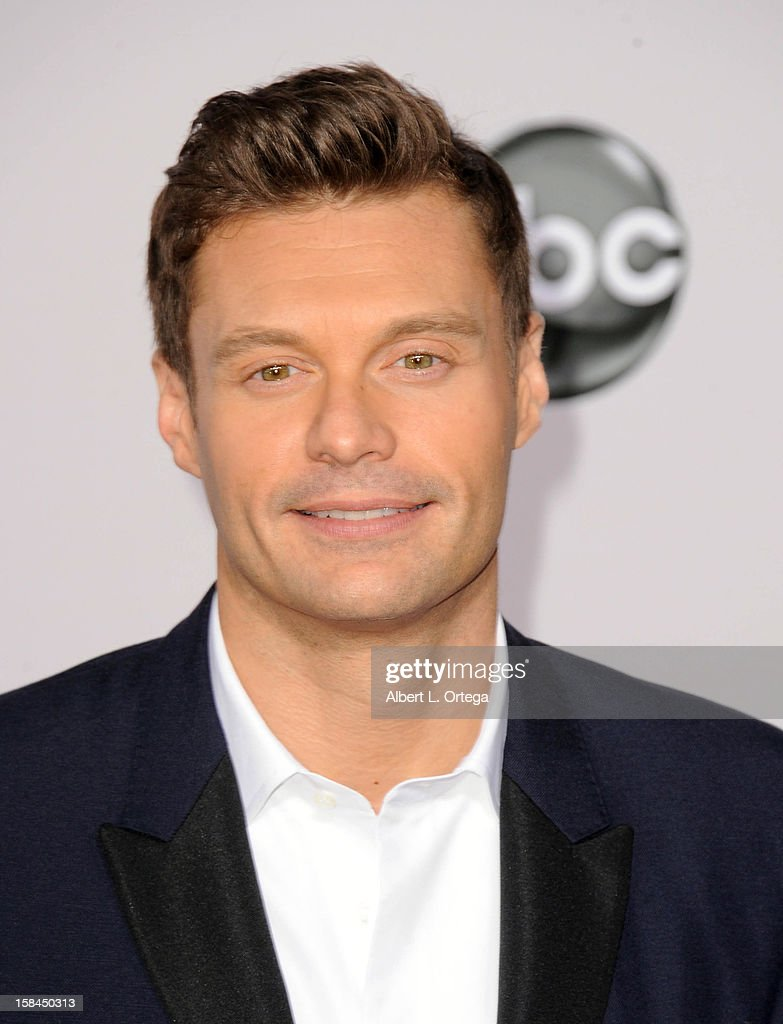 Personality Ryan Seacrest arrives for the 40th Anniversary American Music Awards - Arrivals held at Nokia Theater L.A. Live on November 18, 2012 in Los Angeles, California.