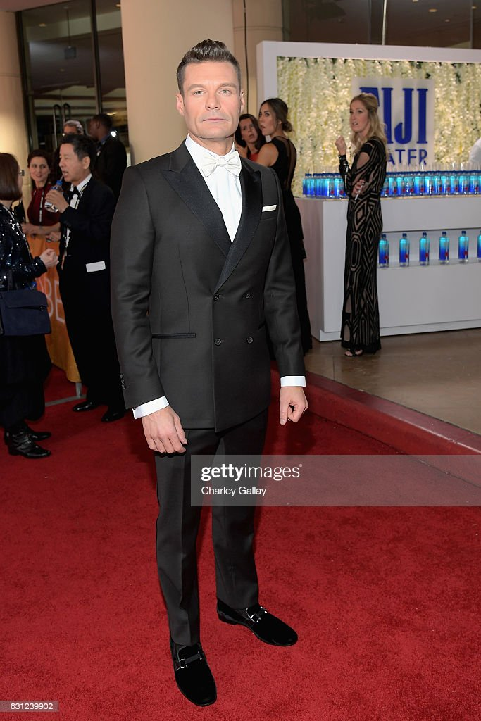 FIJI Water At The 74th Annual Golden Globe Awards