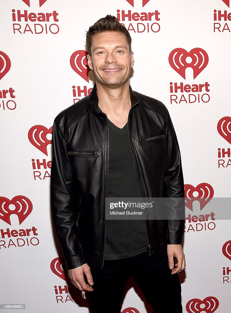 TV personality Ryan Seacrest attends iHeartRadio Fiesta Latina festival presented by Sprint at The Forum on November 22 2014 in Inglewood California