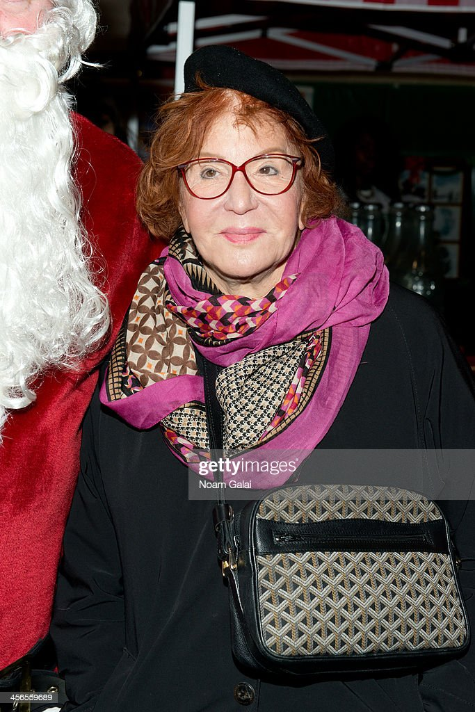 TV Personality Sally Jesse Raphael attends 2013 CitySightseeing New York holiday toy drive at PAL's Harlem Center on December 14, 2013 in New York City.
