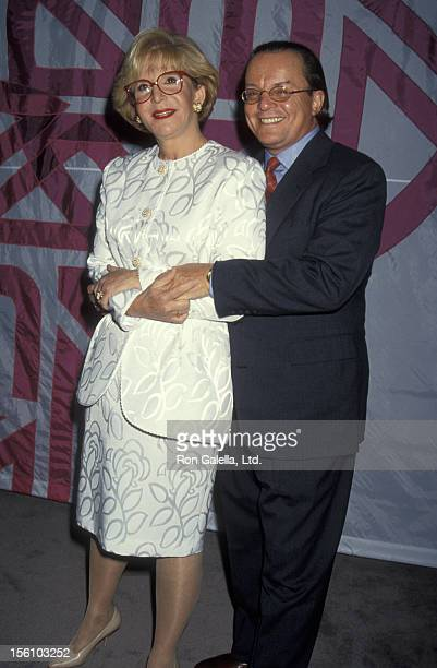 TV Personality Sally Jessy Raphael and husband Karl Soderlund attending 'NAPTE Convention' on January 26 1993 at the Moscone Convention Center in San...