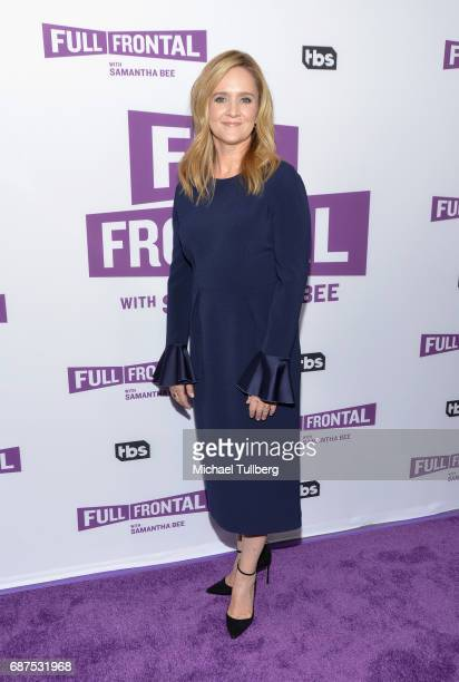 TV personality Samantha Bee attends TBS' For Your Consideration event for 'Full Frontal With Samantha Bee' at Samuel Goldwyn Theater on May 23 2017...