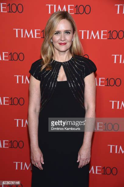 TV personality Samantha Bee attends the 2017 Time 100 Gala at Jazz at Lincoln Center on April 25 2017 in New York City