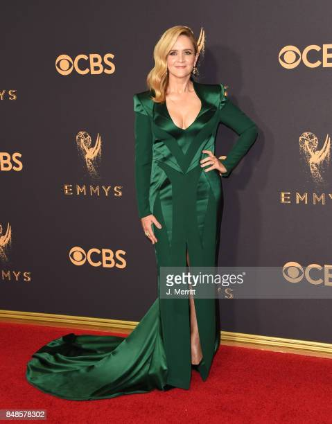TV personality Samantha Bee attends the 69th Annual Primetime Emmy Awards at Microsoft Theater on September 17 2017 in Los Angeles California