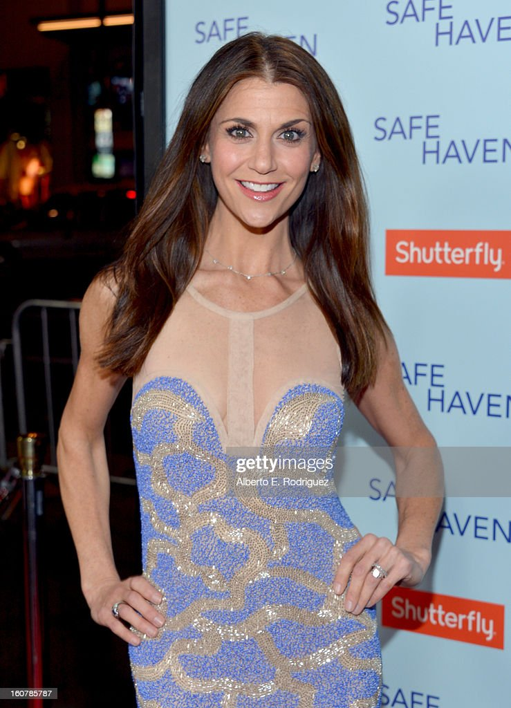 TV personality Samantha Harris arrives at the premiere of Relativity Media's 'Safe Haven' at TCL Chinese Theatre on February 5, 2013 in Hollywood, California.