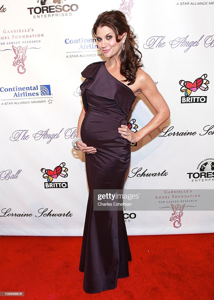 TV personality Samantha Harris attends the 2010 Angel Ball to Benefit Gabrielle's Angel Foundation at Cipriani Wall Street on October 21, 2010 in New York City.