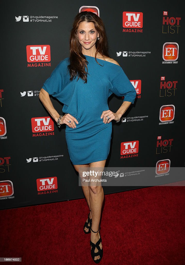 TV Personality Samantha Harris attends TV Guide magazine's annual Hot List Party at The Emerson Theatre on November 4, 2013 in Hollywood, California.