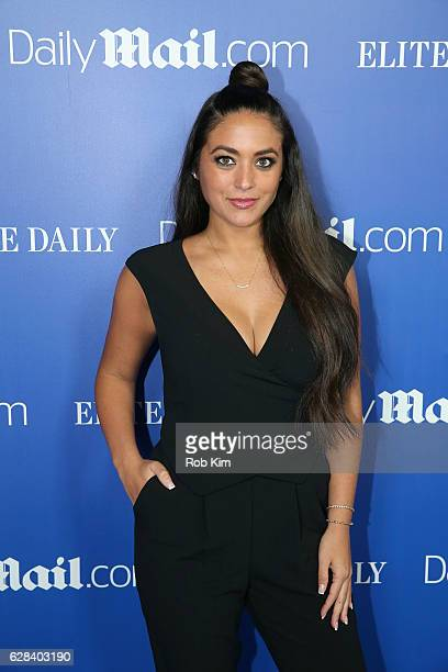 Personality Sammi Giancola attends DailyMailcom Elite Daily Holiday Party with Jason Derulo at Vandal on December 7 2016 in New York City