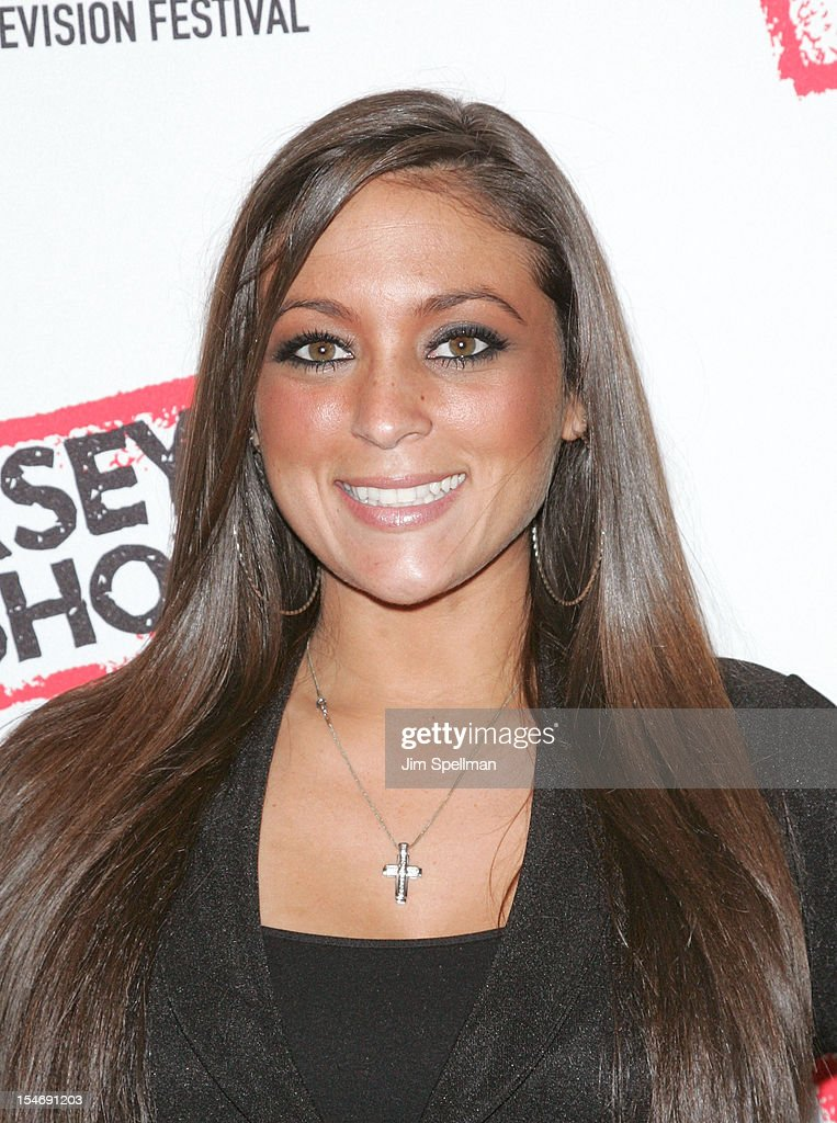 TV Personality Sammi Giancola attends 'Love, Loss, (Gym, Tan) and Laundry: A Farewell To The Jersey Shore' during the 2012 New York Television Festival at 92Y Tribeca on October 24, 2012 in New York City.