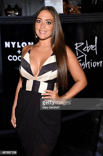 TV personality Sammi Giancola attends Waterford preview new revolutionary bold collection RebelxWaterford at the NYLON Magazine Rebel Fashion Week...