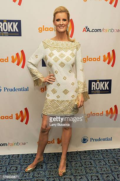TV personality Sandra Lee attends the 22nd Annual GLAAD Media Awards presented by ROKK Vodka at Marriott Marquis Times Square on March 19 2011 in New...