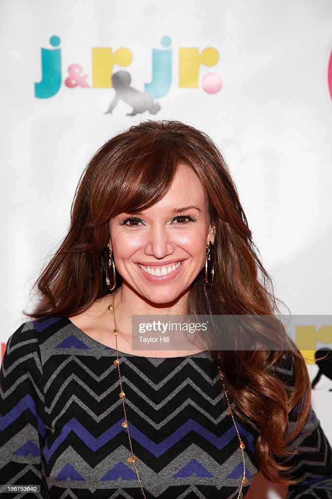 TV personality Sara Gore attends the 14th Biggest Baby Shower Ever at the Metropolitan Pavilion on November 19, 2012 in New York City.