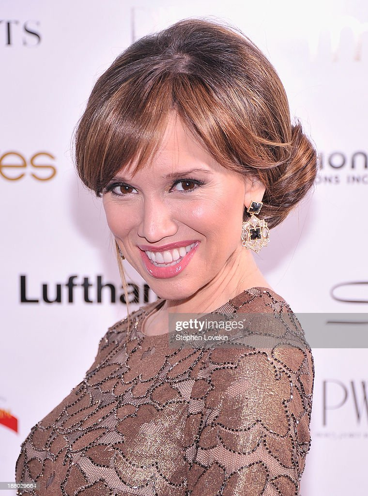 TV personality Sara Gore attends the PowerWomen 2013 awards on November 14, 2013 in New York City.