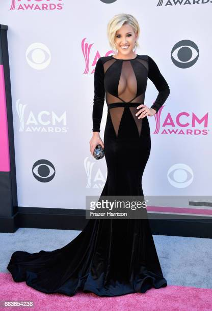 TV personality Savannah Chrisley attends the 52nd Academy Of Country Music Awards at Toshiba Plaza on April 2 2017 in Las Vegas Nevada