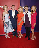 TV personality Savannah Chrisley producer/TV personality and TV personalities Julie Chrisley Chase Chrisley and Lindsie Chrisley arrive at the 2016...