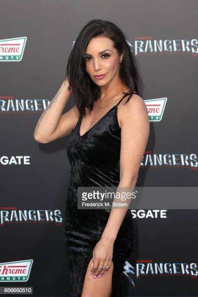 TV personality Scheana Marie at the premiere of Lionsgate's 'Power Rangers' on March 22 2017 in Westwood California