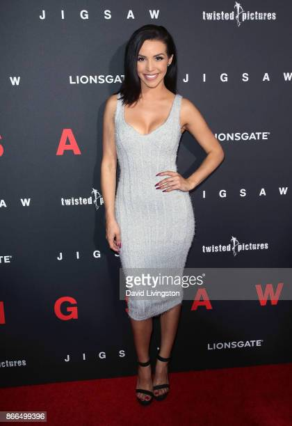 TV personality Scheana Marie attends the premiere of Lionsgate's 'Jigsaw' at ArcLight Hollywood on October 25 2017 in Hollywood California