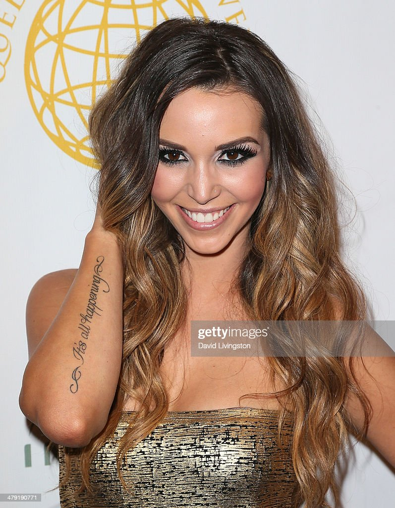 TV personality Scheana Marie attends the Queen of the Universe International Beauty Pageant at the Saban Theatre on March 16, 2014 in Beverly Hills, California.