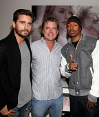TV Personality Scott Disick Wildfox CEO Jimmy Sommers and actor Nick Cannon attend the Wildfox Flagship Store Launch Party on October 16 2014 in West...