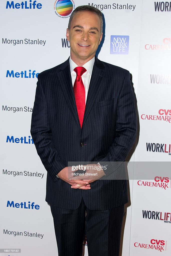 TV personality Scott Stanford attends the 11th Annual Work Life Matters gala at Club 101 on October 24, 2013 in New York City.