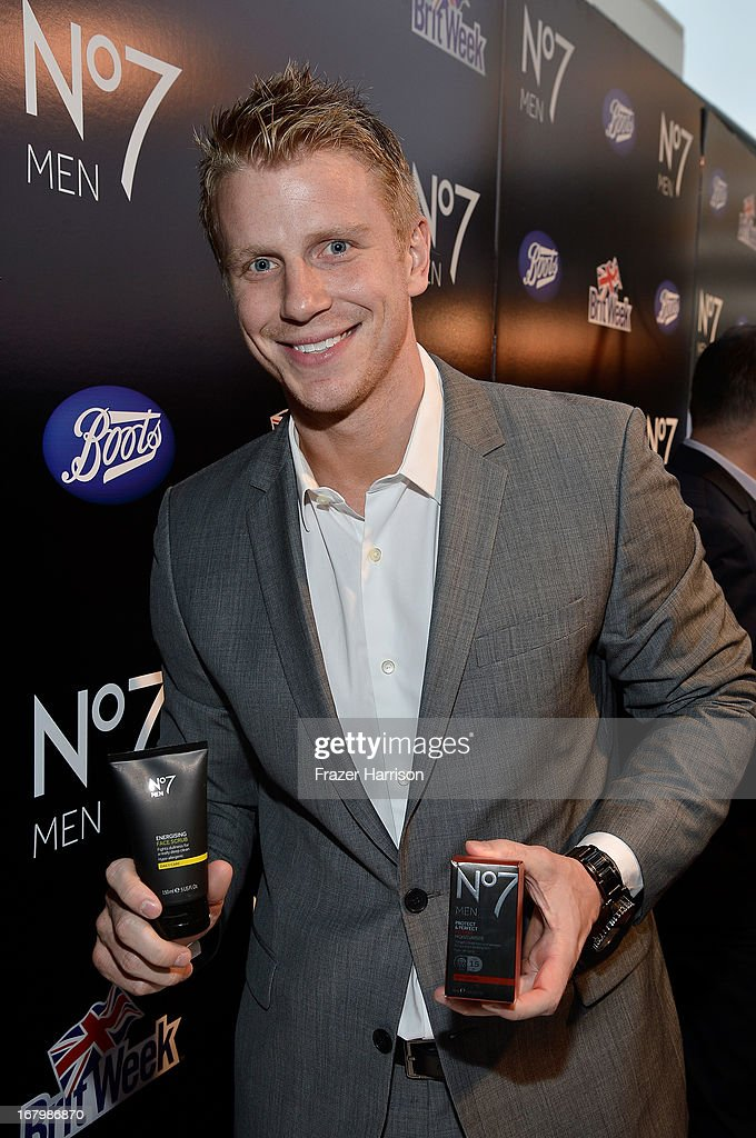 TV personality Sean Lowe attends the Boots Not Men Launch at Britweek 2013 at The Fairmont Miramar Hotel on May 3, 2013 in Santa Monica, California.