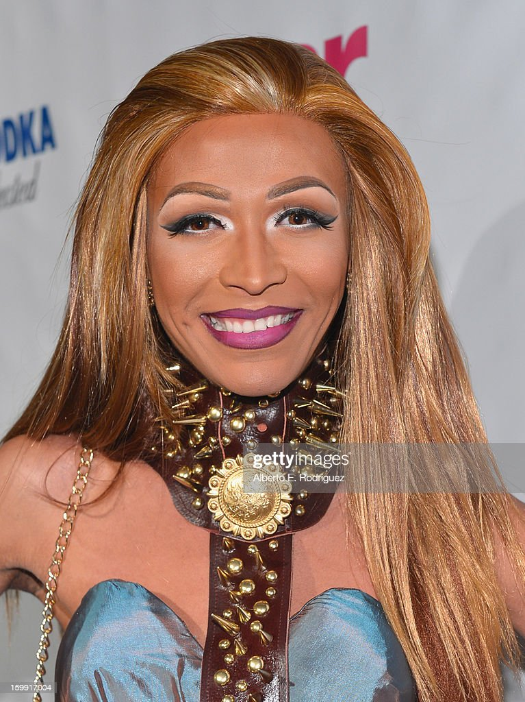 TV personality Serena ChaCha arrives to the premiere of 'RuPaul's Drag Race' Season 5 at The Abbey on January 22, 2013 in West Hollywood, California.