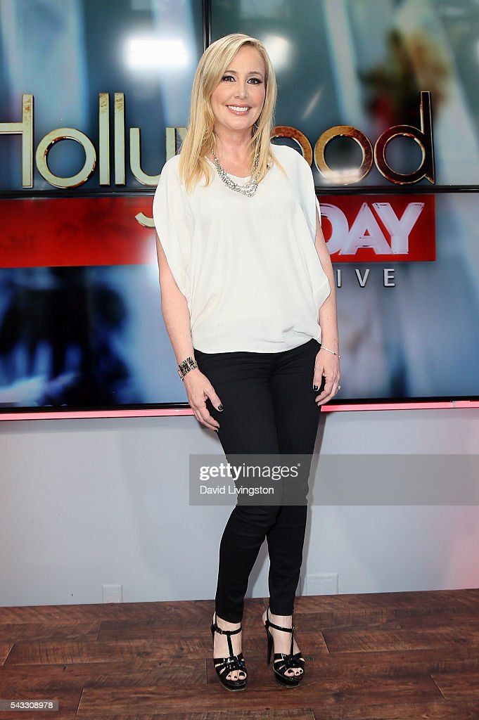 TV personality <a gi-track='captionPersonalityLinkClicked' href=/galleries/search?phrase=Shannon+Beador&family=editorial&specificpeople=12539398 ng-click='$event.stopPropagation()'>Shannon Beador</a> visits Hollywood Today Live at W Hollywood on June 27, 2016 in Hollywood, California.