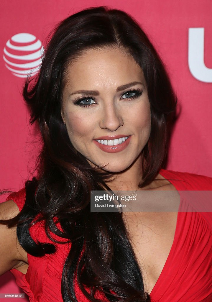 TV personality Sharna Burgess attends Us Weekly's Annual Hot Hollywood Style Issue event at the Emerson Theatre on April 18, 2013 in Hollywood, California.