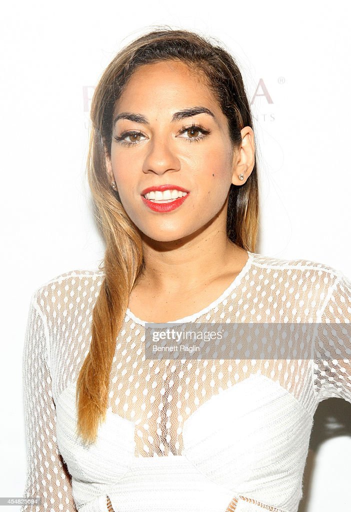 TV personality Sharon Carpenter attends Harlem's Fashion Row 7th Annual Fashion Show And Style Awards at The Waterfront on September 6 2014 in New...