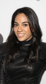 TV personality Sharon Carpenter attends the Hybird opening night party presented by Questlove and Stephen Starr inside Chelsea Market on May 14 2013...