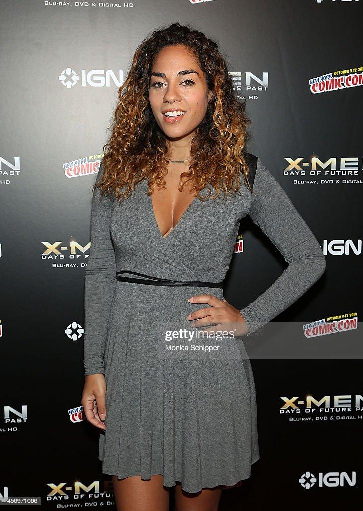 TV personality Sharon Carpenter attends the 'XMen Days Of Future Past' Home Entertainment Release Party at Marquee on October 9 2014 in New York City