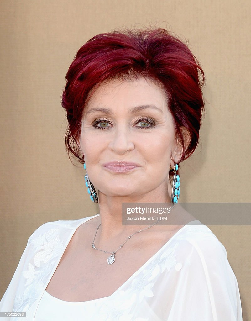 TV personality <a gi-track='captionPersonalityLinkClicked' href=/galleries/search?phrase=Sharon+Osbourne&family=editorial&specificpeople=203094 ng-click='$event.stopPropagation()'>Sharon Osbourne</a> arrives at the CW, CBS and Showtime 2013 summer TCA party on July 29, 2013 in Los Angeles, California.